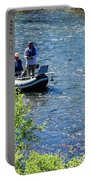 Down River Fly Fishing Portable Battery Charger