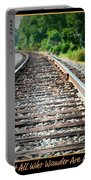 Down The Tracks Portable Battery Charger
