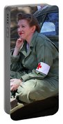 Down Time-us Army Nurse Corps Portable Battery Charger