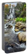 Downstream From Chittenango Falls Portable Battery Charger