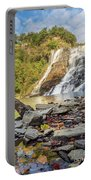 Downstream From Ithaca Falls Portable Battery Charger