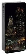 Downtown Atlanta Lights Portable Battery Charger