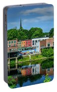 Downtown Augusta, Maine Portable Battery Charger