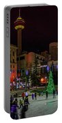 Downtown Christmas Portable Battery Charger