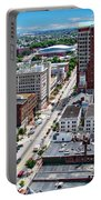 Downtown Manchester Portable Battery Charger