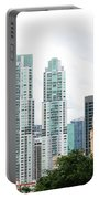 Downtown Miami Portable Battery Charger