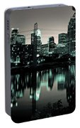 Downtown Minneapolis At Night II Portable Battery Charger