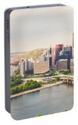 Downtown Pittsburgh Pennsylvania Portable Battery Charger