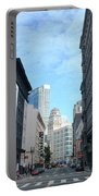 Downtown San Francisco Street Level Portable Battery Charger