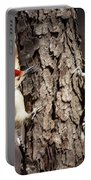 Downy Woodpeckers Portable Battery Charger
