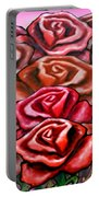 Dozen Roses Portable Battery Charger