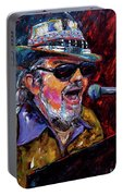 Dr. John Portrait Portable Battery Charger