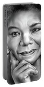 Dr Maya Angelou Portable Battery Charger