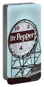 Dr Pepper Landmark Sign Roanoke Virginia Portable Battery Charger