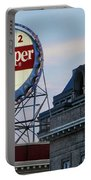 Dr Pepper Sign Portable Battery Charger