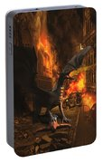 Dragon Flame Portable Battery Charger by Solomon Barroa