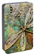 Dragon Fly  -mixed Media Portable Battery Charger