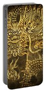 Dragon Pattern Portable Battery Charger by Setsiri Silapasuwanchai