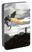 Dragon Scenery - 3d Render Portable Battery Charger