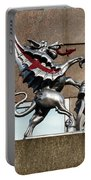 Dragon With Red Cross Portable Battery Charger