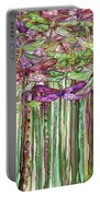 Dragonfly Bloomies 1 - Pink Portable Battery Charger