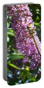 Dragonfly On The Butterfly Bush Portable Battery Charger