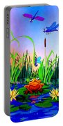 Dragonfly Pond Portable Battery Charger