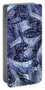 Dragons In Blue Mosaic Portable Battery Charger