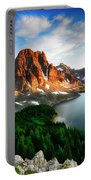 Drama Of The Canadian Rockies 3 Portable Battery Charger