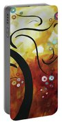 Drama Unleashed 1 Portable Battery Charger by Megan Duncanson