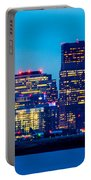 Dramatic Boston Skyline  Portable Battery Charger