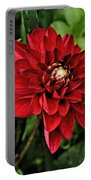Dramatic Dahlia Portable Battery Charger