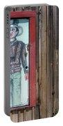 Drawing John Wayne Hondo  Medicine Horse Black Canyon City Arizona 2005 Portable Battery Charger