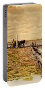 Drawing The Seine 1882 Portable Battery Charger