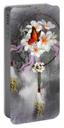 Dream Catcher Frangipani Portable Battery Charger