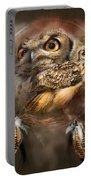 Dream Catcher - Spirit Of The Owl Portable Battery Charger