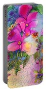 Dream Flowers Portable Battery Charger