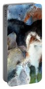 Dream Of Wild Horses Portable Battery Charger