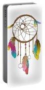 Dreamcatcher Rainbow Portable Battery Charger