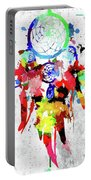 Dreamcatcher Grunge Portable Battery Charger