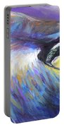 Dreamer Tubby Cat Painting Portable Battery Charger
