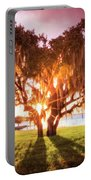 Dreaming At Sunrise Portable Battery Charger