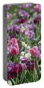 Dreaming Of Tulips Portable Battery Charger
