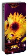 Dreams 4 - Sunflower Portable Battery Charger
