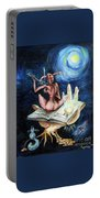 Dreams On A Moonlit Night Portable Battery Charger