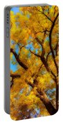 Dreamy Crisp Autumn Day Portable Battery Charger