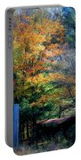 Dreamy Fall Scene Portable Battery Charger