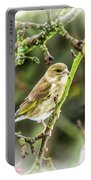Dreamy Greenfinch. Portable Battery Charger