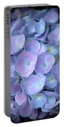 Dreamy Hydrangea In Purple And Blue  Portable Battery Charger