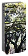Dreamy Live Oaks Portable Battery Charger